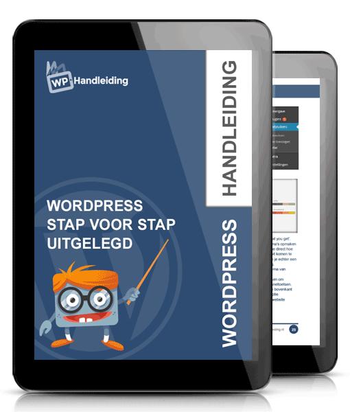 Maak jouw WordPress website met behulp van WPhandleiding.nl